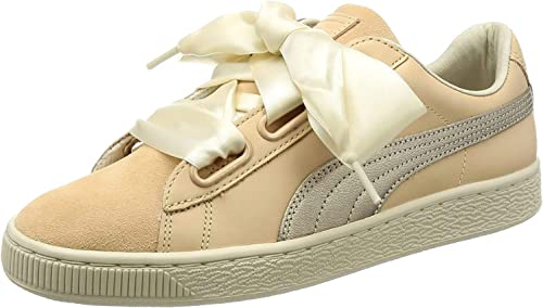 PUMA Basket Heart Up Trainers Natural