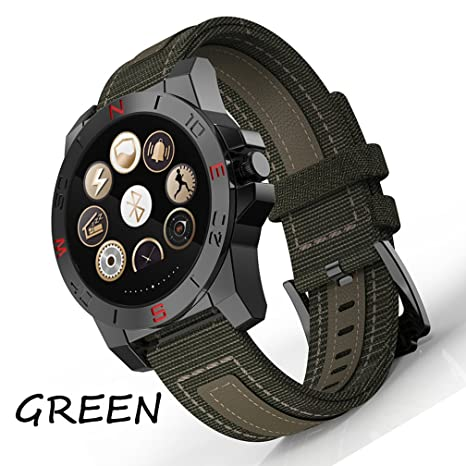 Green Seguimiento De La Aptitud Y Reloj Elegante For Men , Shengyaohul Digital Wrist Watch Cámara
