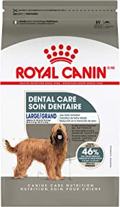 Royal Canin Dental Care Dry Food for Large Dogs, 30 lb. Bag