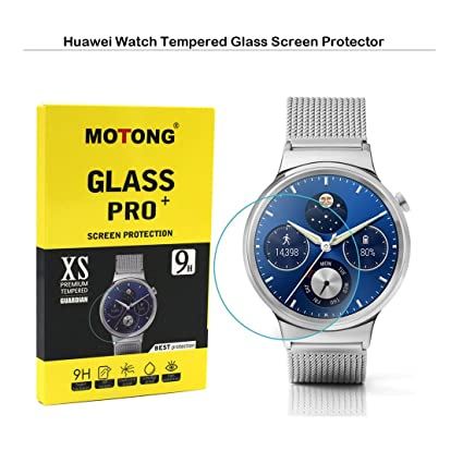 motong tempered glass screen protector for huawei watch tempered glass amazoncom tempered glass