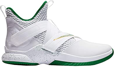 newest 5cc6b 4cb34 Nike Lebron Soldier XII Mens Ao2609-100 Size 9 White/Multi-Color