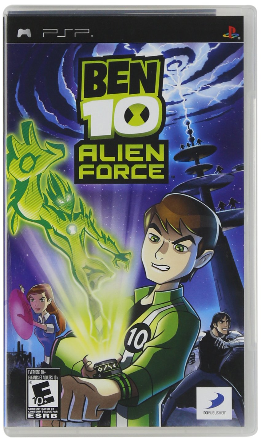 Ben 10 Alien Force - Sony PSP