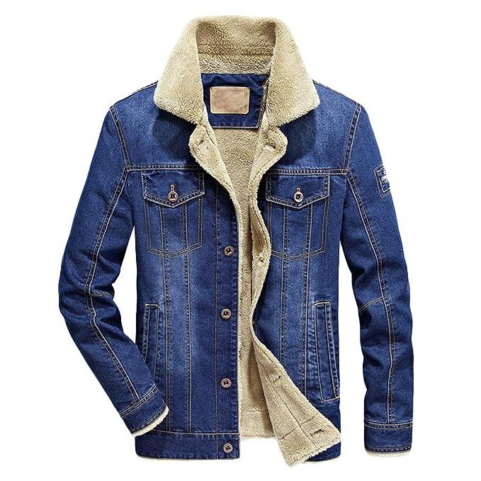 Amazon.com: Mens Trench Coat,Mens Flick Denim Hooded Jacket ...