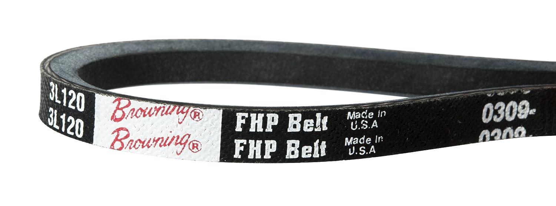 L Belt Section Browning 3L440 FHP V-Belts 43.3 Pitch