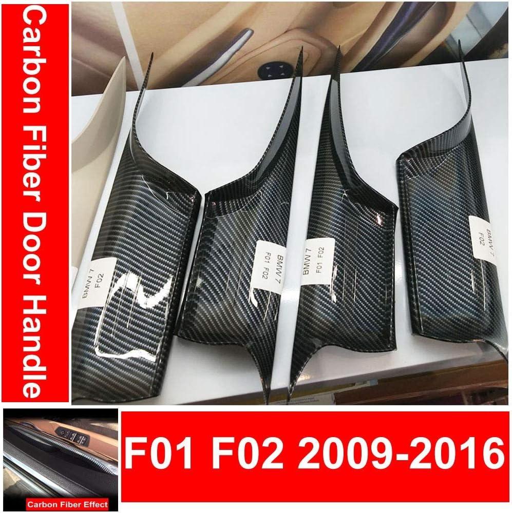 Paire gauche Intérieur Poignée de porte Couverture Fit for BMW 7 Series F01 F02