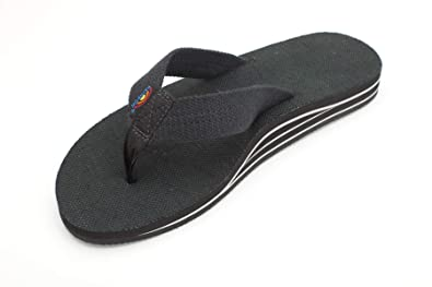 8e5a12aa2 Amazon.com | Rainbow Sandals Men's Double Layer Arch Hemp | Sandals