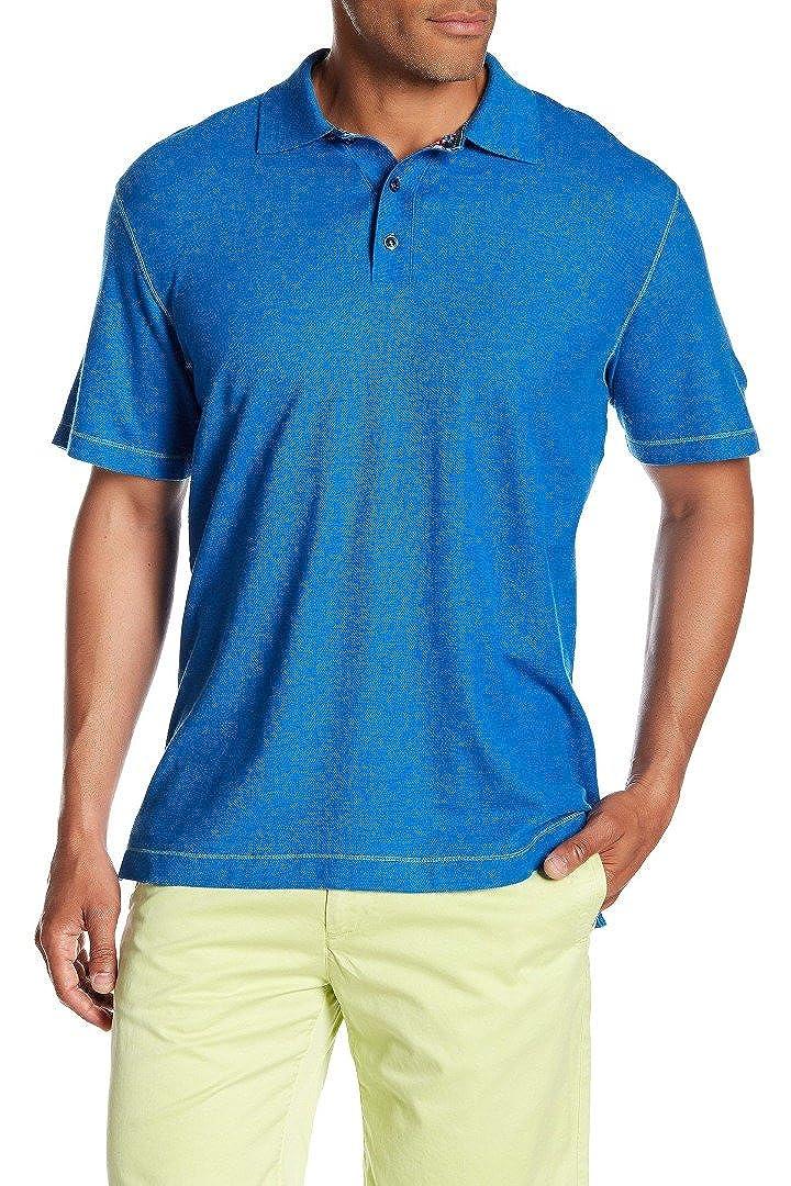 a181aa7a6f92 Amazon.com  Robert Graham New Marine Blue Stellar Stitch Detail Classic FIT  Polo Shirt SZ S  Clothing