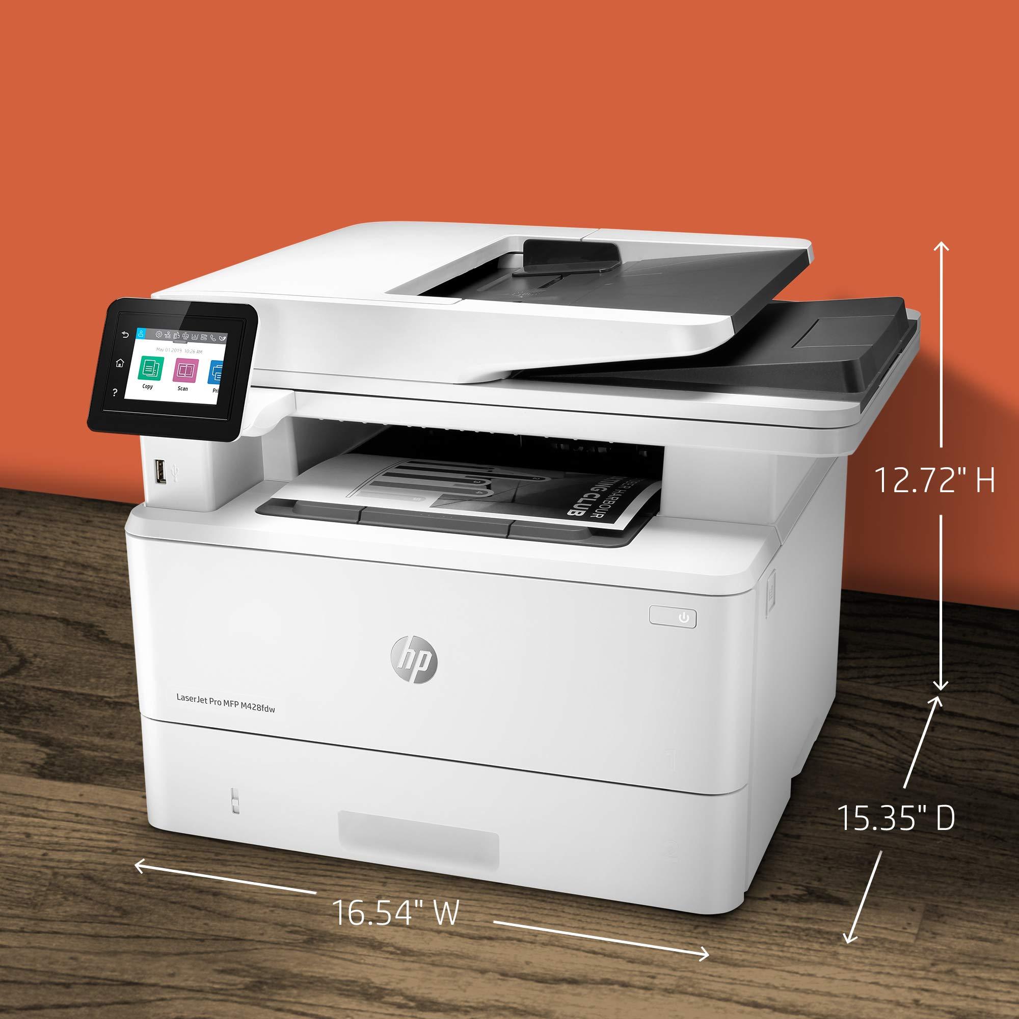 HP LaserJet Pro Multifunction M428fdw Wireless Laser Printer (W1A30A) by HP (Image #14)