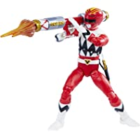 Power Rangers Lightning Collection Lost Galaxy Red Ranger 6-Inch Premium Collectible Action Figure Toy with Accessories