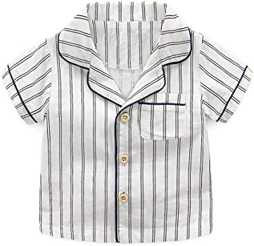 Baiomawzh Counjunto de Ropa Bebé Niño Verano 2Pcs- Camisas ...