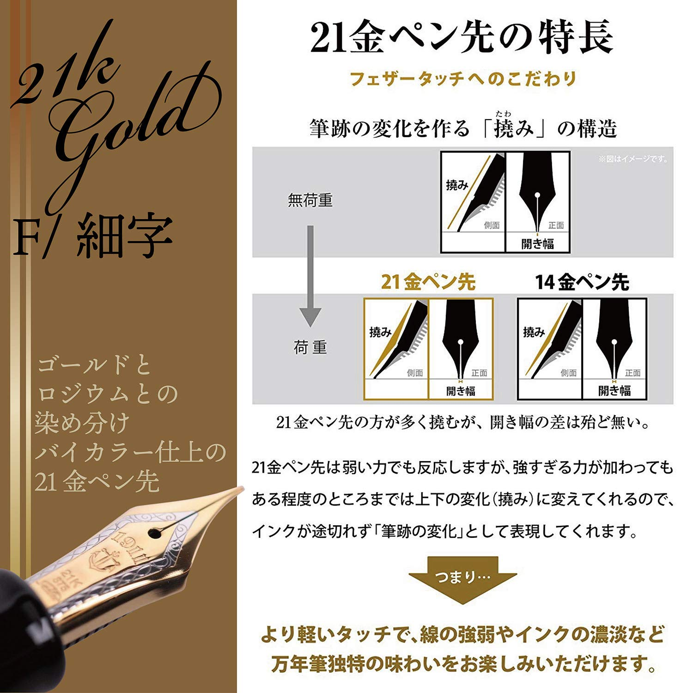 Sailor pen Fountain pen Professional gear gold Gold Medium Black 11-2036-420