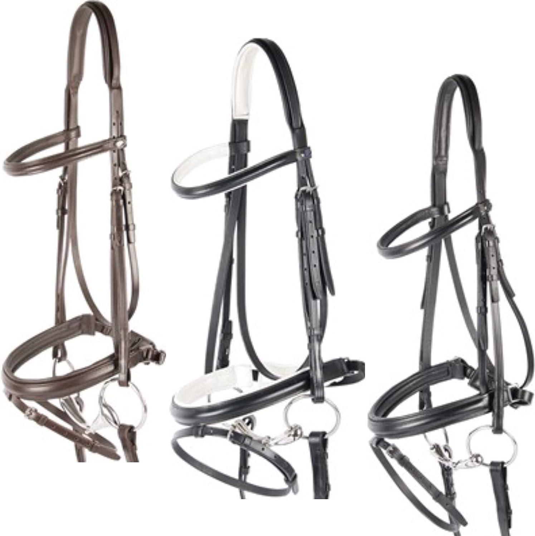Harry 's Horse 28002110–04COB Bocado Luxe, Sueco ortopédica Equitación–Cabestro–COB, M, Color Blanco
