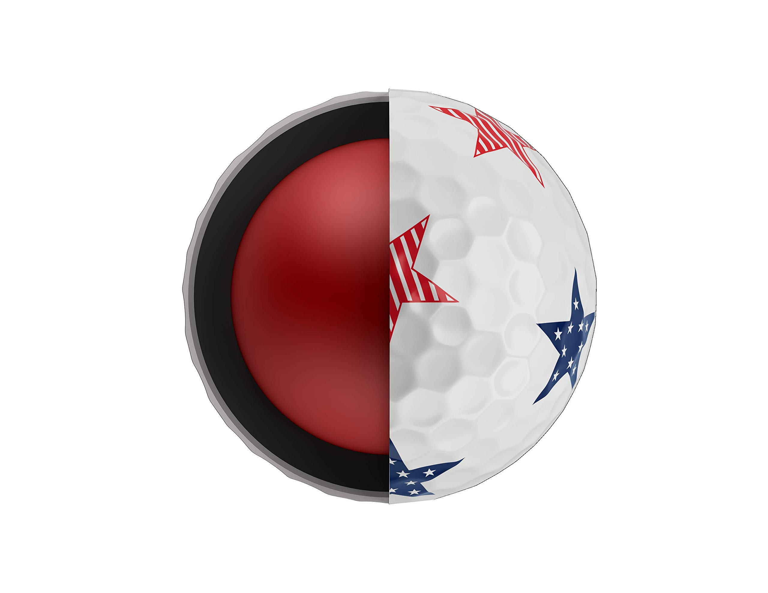 Callaway Golf Chrome Soft Truvis Golf Balls, (One Dozen), Stars and Stripes (Limited Edition) by Callaway (Image #6)