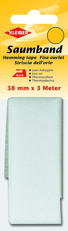 Cinta para dobladillos 38 mm x 3 m Kleiber