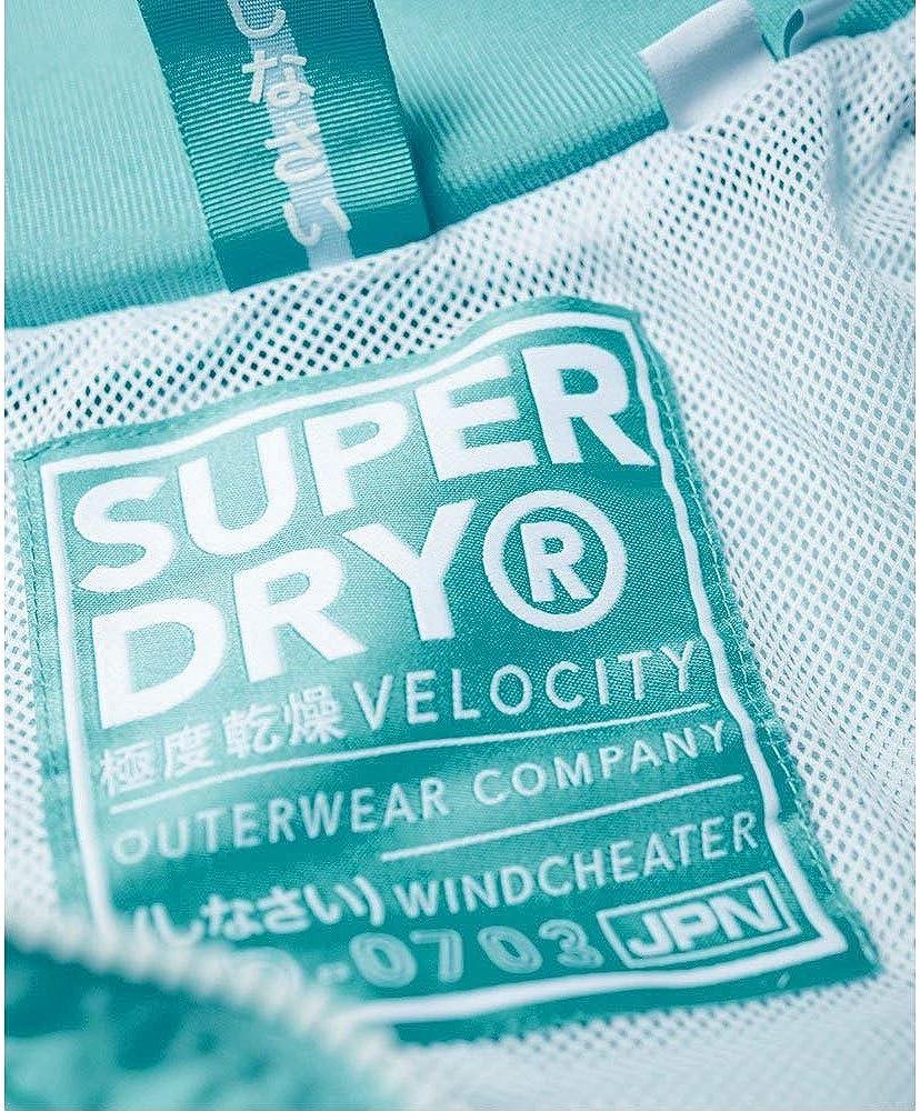 Superdry Damen Tech Velocity Sd-Windcheater Mantel
