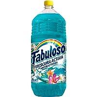 Fabuloso Limpiador Liquido Fabuloso Antibacterial Mar Fresco Multiusos 2 Lt, color, 2 L, pack of/paquete de