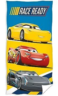 Disney Cars Strandtuch 70x140cm 100/% Baumwolle Badetuch Handtuch Lightning Queen