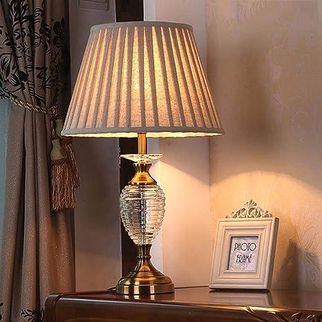 XHX Lámparas de mesa, lámpara de mesita de noche minimalista ...
