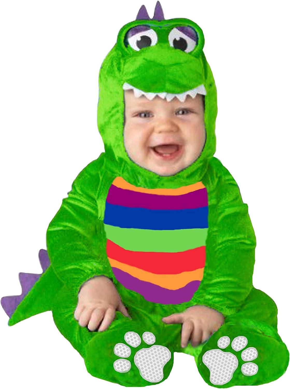 EL CARNAVAL Disfraz Bebe Cocodrilo Talla de 1 a 2 años: Amazon.es ...