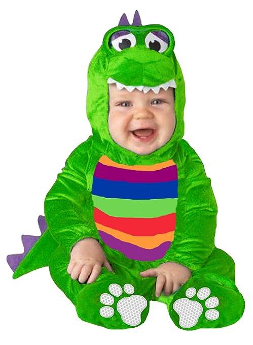 EL CARNAVAL Disfraz Bebe Cocodrilo Talla de 1 a 2 años