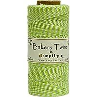 Hemptique Baker's - Bobina de Hilo (50 g), Color Verde