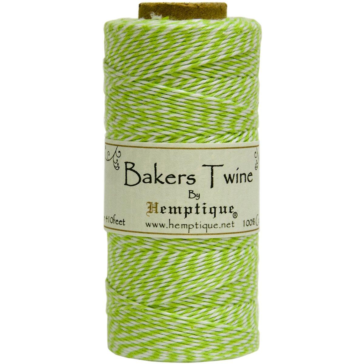 amazon co jp cotton baker s twine spool 2 ply 410 pkg lime