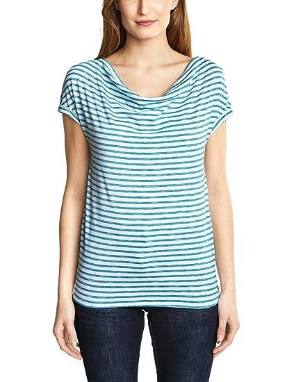 df269d278e5d81 Cecil Damen Softes Streifenshirt: Amazon.de: Bekleidung
