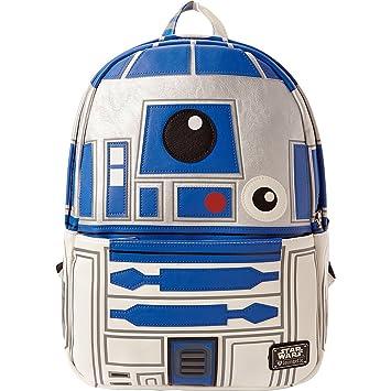 4ecaa885717 Loungefly Star Wars R2-D2 Backpack (Blue)