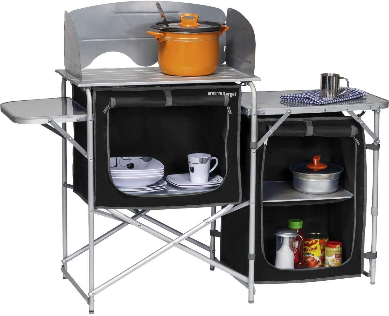 Cocina Caja Berger camping Cocina