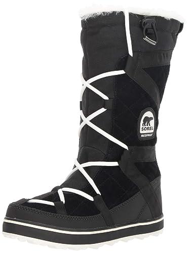 37f80f98d28 SOREL Women s Glacy Explorer Snow Boot Black 6 ...