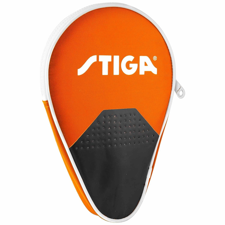 Stiga–Custodia rotonda scenario Arancione per racchetta da ping pong tennis di tavolo