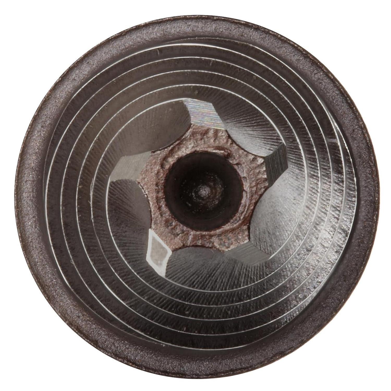 Left Hand Spiral Flute Size: 7//8 Inch Round Shank Uncoated Finish Alvord Polk 650-H High-Speed Steel Construction Reamer