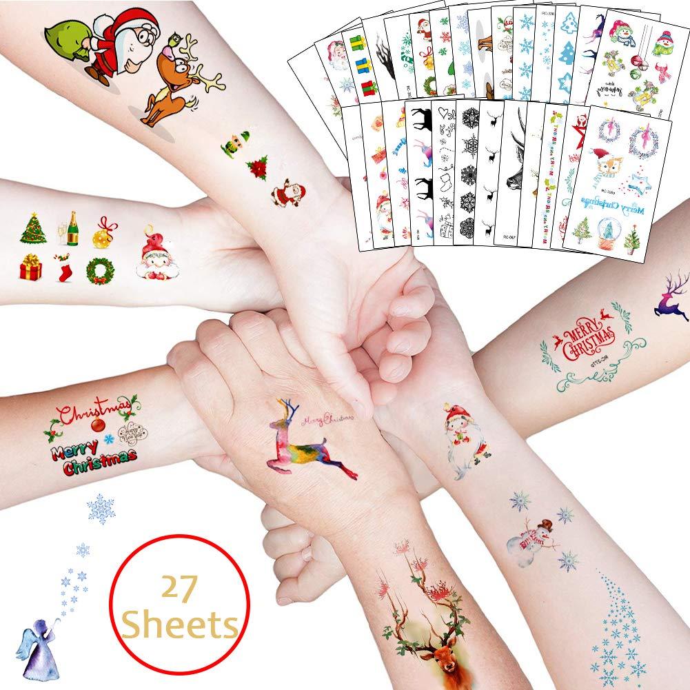 Bibivisa 220x Navidad Tatuajes Temporales Niños Niñas, La Misa del ...