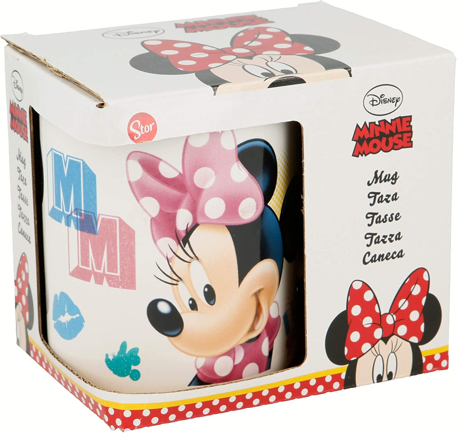 TAZA CERAMICA 325 ML CON CAJA | MINNIE MOUSE - DISNEY - SUMMER ...