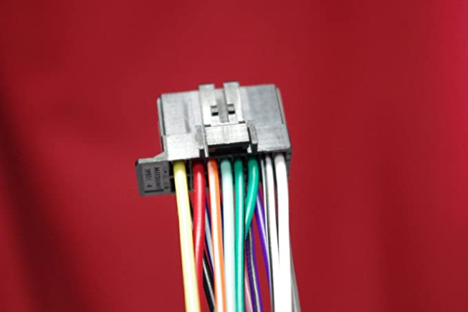 amazon com wire harness for pioneer avh 170dvd 270bt x1700s rh amazon com