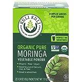 Kuli Kuli Moringa Oleifera Organic Leaf Powder & Green Smoothie, 100% Pure USDA Certified & Non-GMO Moringa Powder, Great wit