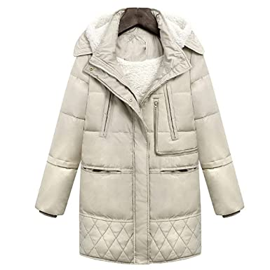 Amazon.com: Chaqueta de invierno para mujer con capucha de ...