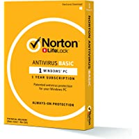 Norton Anti Virus Basic - 1 Device - 12months - Physical Delivery (Activation Key Card)