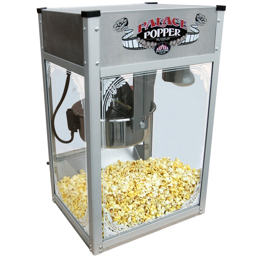 Funtime Palace Popper 8 OZ Commercial Bar Style Popcorn Popper Machine - FT824PP