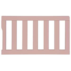 Dream On Me Universal Convertible Crib Toddler Guard Rail, Deep Pink