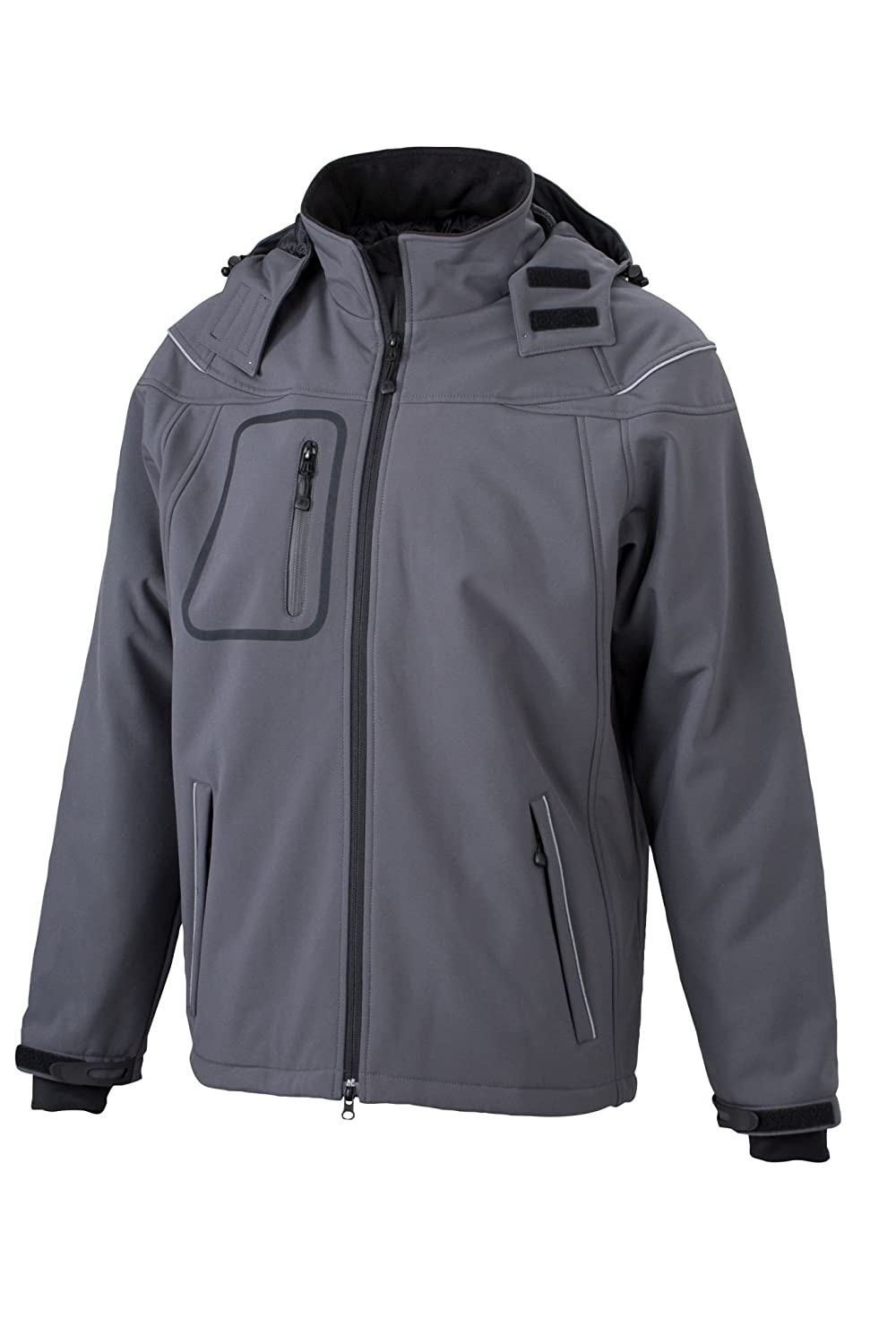 Herren 3-Lagen Winter Softshell Jacke | James & Nicholson | JN 1000