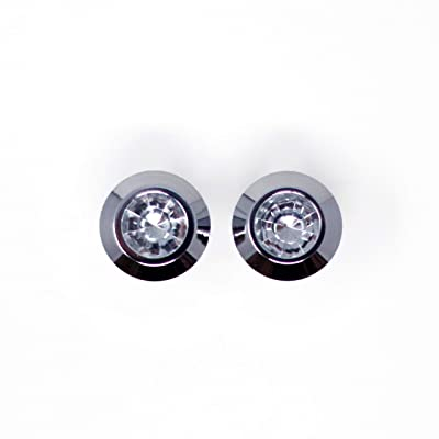 Custom Accessories 93320 Diamond License Frame Fastener: Automotive