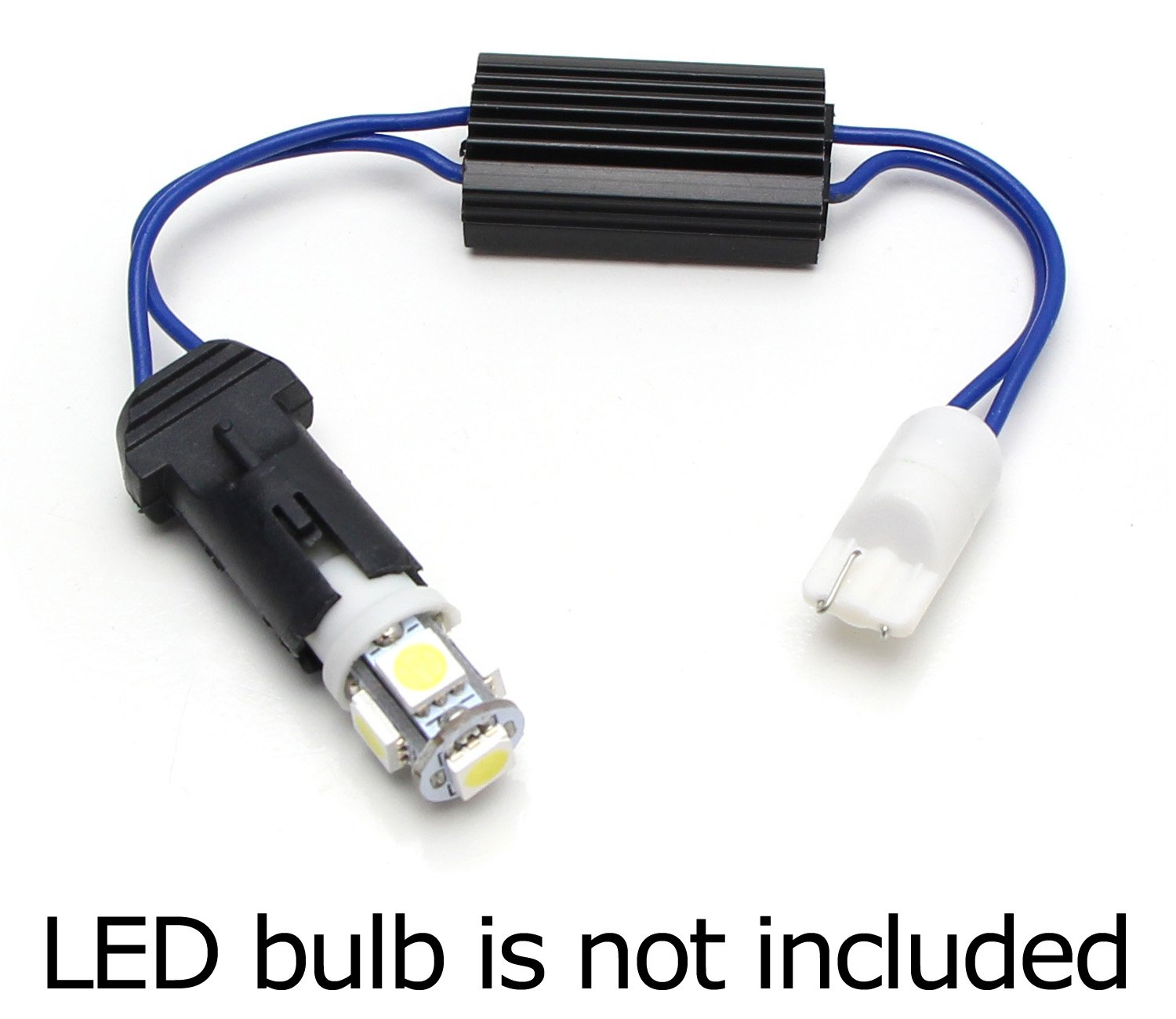 Ijdmtoy 2825 W5w Canbus Error Free Wiring Adapters For Installing Led Load Resistor Harness In A Bmw Parking Lights License Plate Automotive