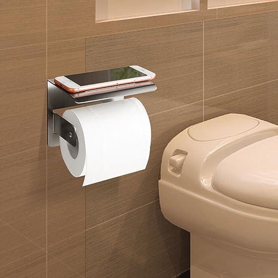 Portarrollos Papel Higienico,Porta Rollos Bano,Accesorios Bano,Banos Muebles(Plata): Amazon.es: Hogar
