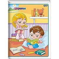 Jandaia 00410-77, Caderno Brochura 1/4, Jandainha, 96 Folhas, Multicor