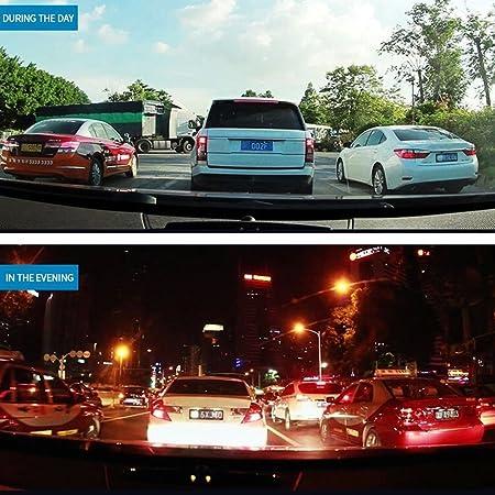 Cámara De Coche Full HD 1080P Dash CAM Gran Ángulo Dashcam, G-Sensor,con Sensor G de Alta sensibilidad, detección de Movimiento, Monitor de estacionamiento, ...