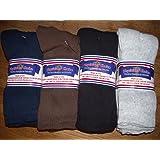 Diabetic Socks 10-13 Mens CREW LENGTH,Physicians Choice,12 Pair,4 assorted Colors