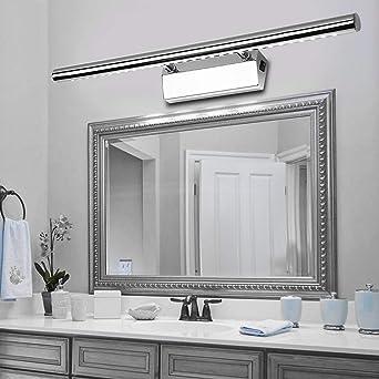 Lampe Blanche Pour Miroir Led 5 7 9 15 W Pour éclairage De Miroir De Bain Lampe D Armoire Blanc Neutre 105cm 15w B15d Amazon Fr Luminaires Et Eclairage