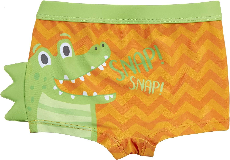 Costume da Bagno per Bambini//Ragazzi Minikidz con squalo o Coccodrillo