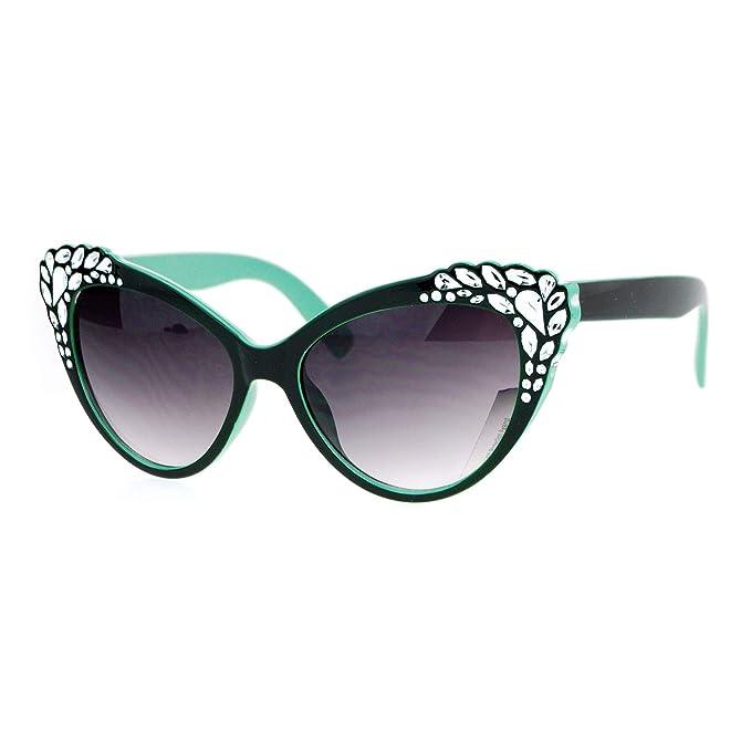 Amazon.com: SA106 - Gafas de sol para mujer, diseño de ojo ...